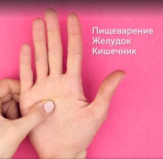 5 активных точек на ладонях, которые управляют организмом