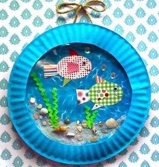 Мастерим из пластиковых тарелок