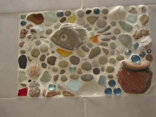 Лепнина и мозаика или факрутная стена для интерьера своими руками