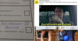 Выборы через призму соцсетей: как это было