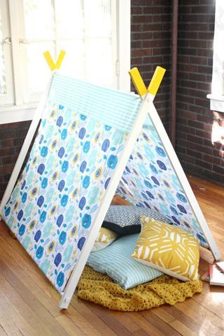 Как сделать детский шатер