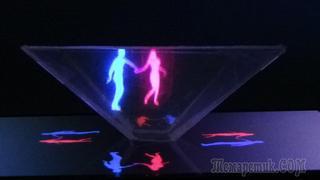 Как сделать 3D голограмму в домашних условиях