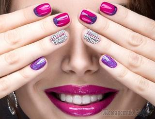 Рисунки на ногтях: фото идеи