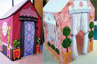 Сказочный летний домик для детей своими руками
