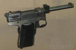 7,62-мм пистолет Токарева, опытный образец 1938 - 39года