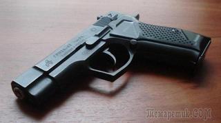 Оружие самообороны: пистолет Гроза-02 / Гроза-021
