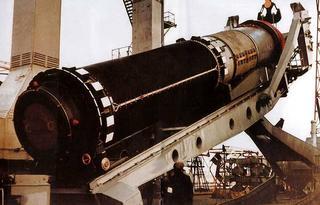 Ракетный комплекс Д-19 с баллистической ракетой Р-39