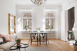 Воздушный и стильный шведский интерьер