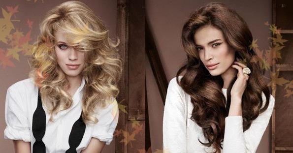 Причёски волны длинные волосы