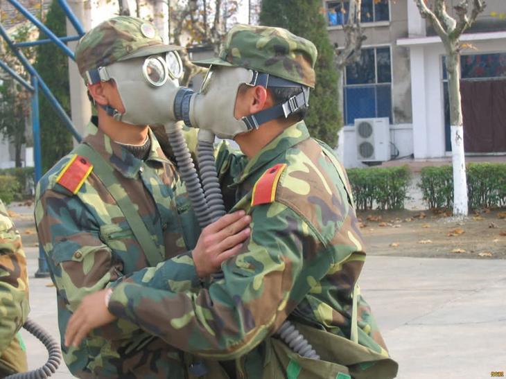 Такая вот армейская любовь. армия, военные, прикол, юмор