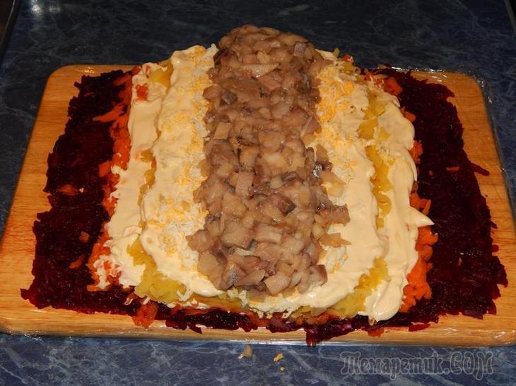 шуба в шубке пошаговый рецепт с фото