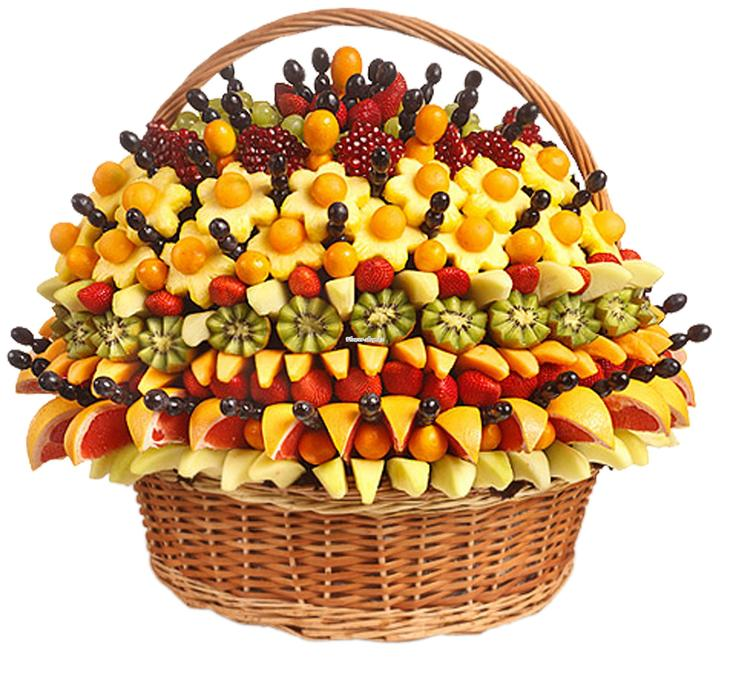 Экзотические подарки из фруктов