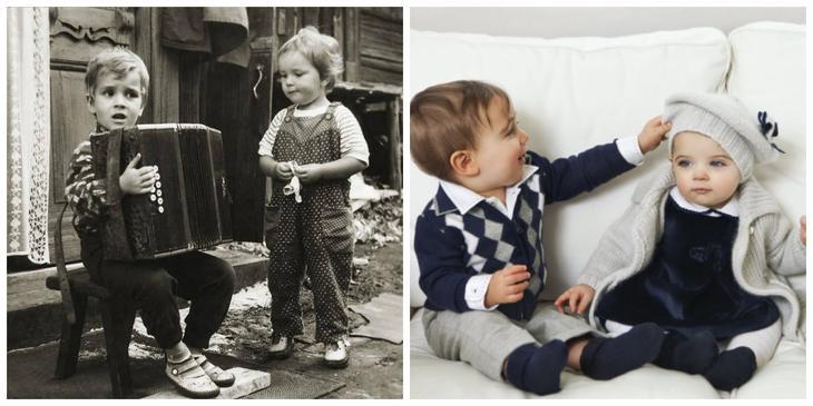 Любовь с раннего детства дети, одежда, ссср