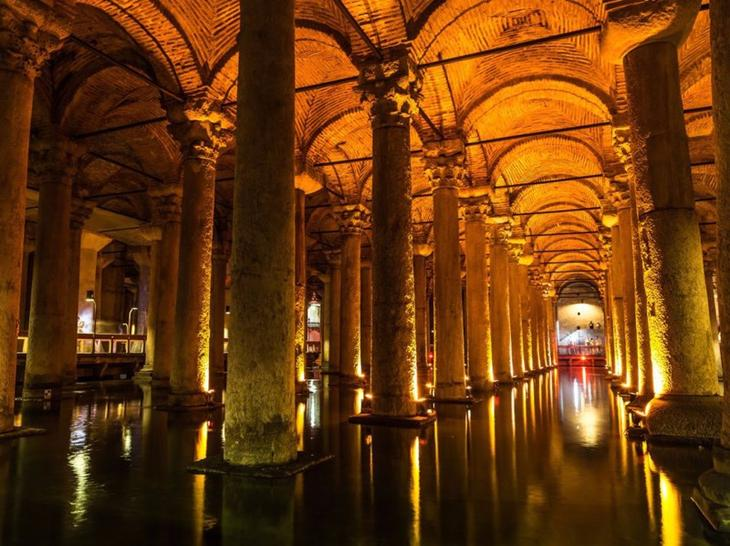 Удивительные подземные достопримечательности, которые можно посетить интересно, путешествия, фото