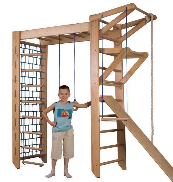 Как самому сделать шведскую стенку для ребенка