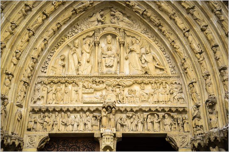 Собор Парижской Богоматери. Нотр-Дам де Пари, Фото.