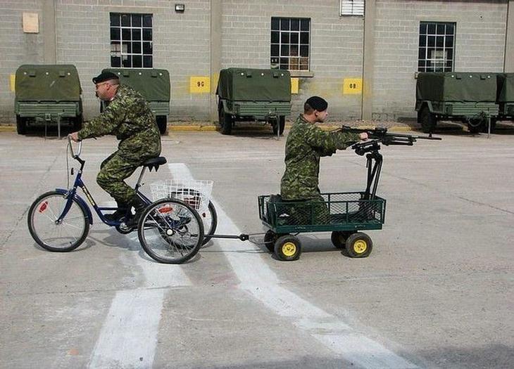 Вот они, современные мотострелковые войска. армия, военные, прикол, юмор