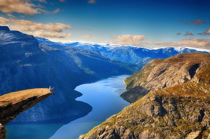 Норвегия - волшебная страна красоты природы достопримечательности, норвегия, путешествия