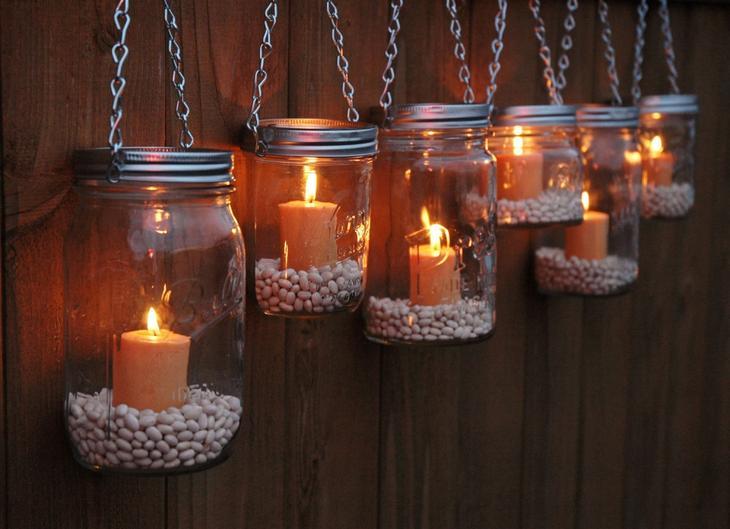 Светильник для свечей своими руками 1