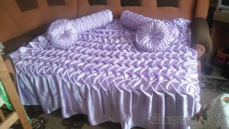 Декоративные подушки с буфами