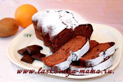 Кекс с абрикосовым вареньем рецепт
