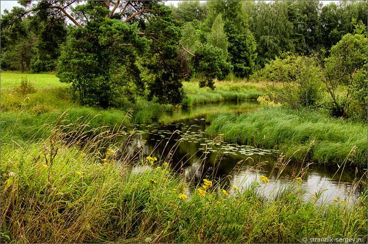 Маленькая река  - остров счастья