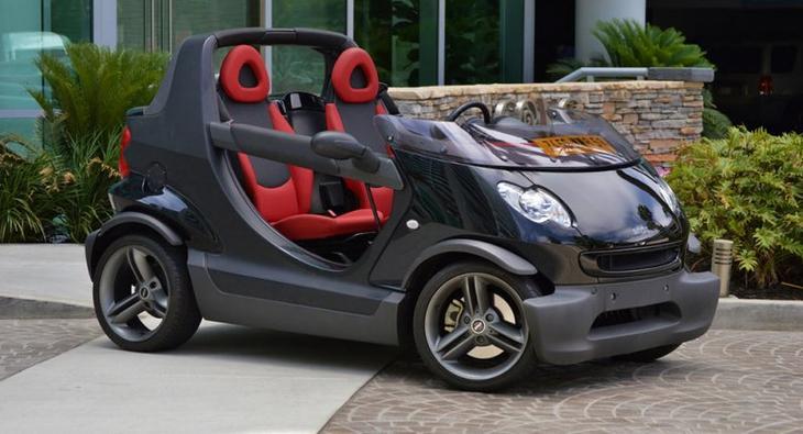 Smart Crossblade — самый маленький серийный кабриолет