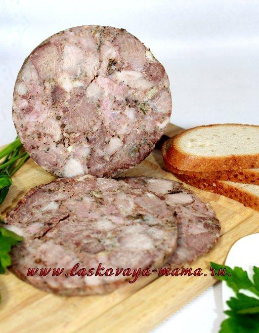 Ветчина в домашних условиях из свинины в ветчиннице с нитритной солью