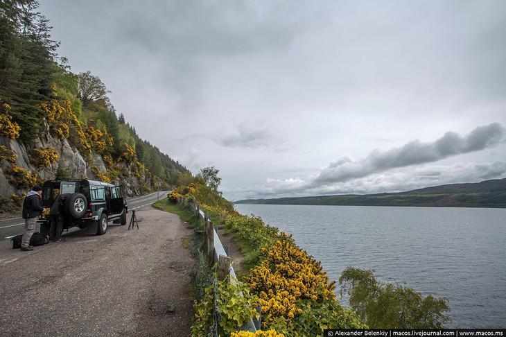 История о посещении озера одним из авторов из ЖЖ лох, несс, озеро
