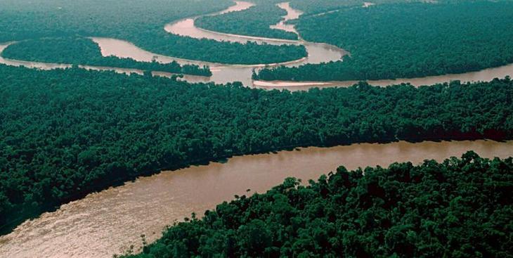 Природное чудо планеты - Амазонка