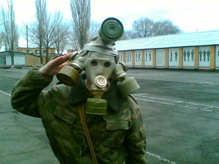 Многоликий солдат. армия, военные, прикол, юмор