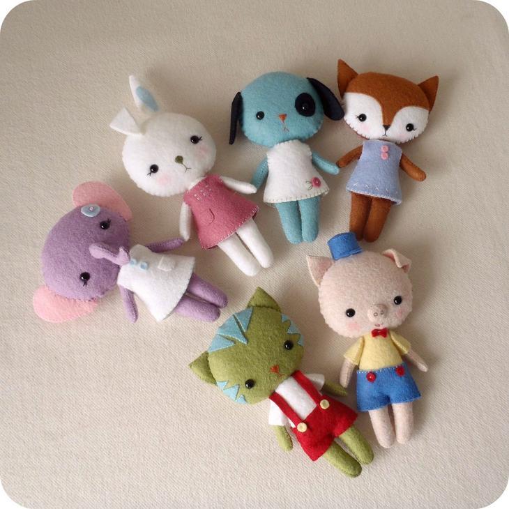 Поделки для маленьких игрушек 41