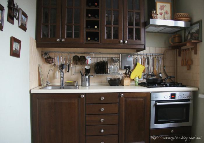 Кухни шестиметровые дизайн