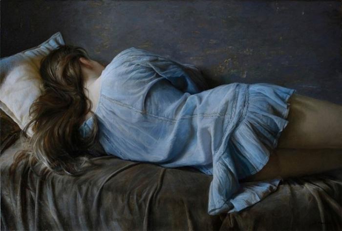 Красота женского тела, в потрясающе реалистичных работах Сергея Маршенникова