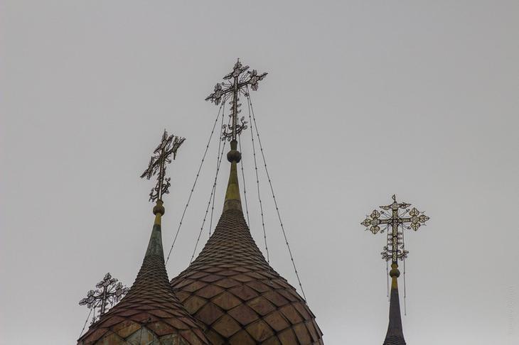 Интереснейшая храмовая архитектура села Курба архитектура, велосипед, поход, путешествия, россия, храм