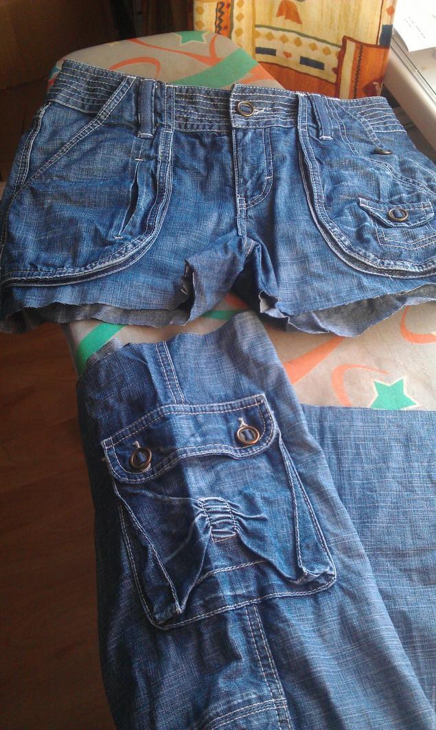 Модная сумка из старых джинсов, фото № 1