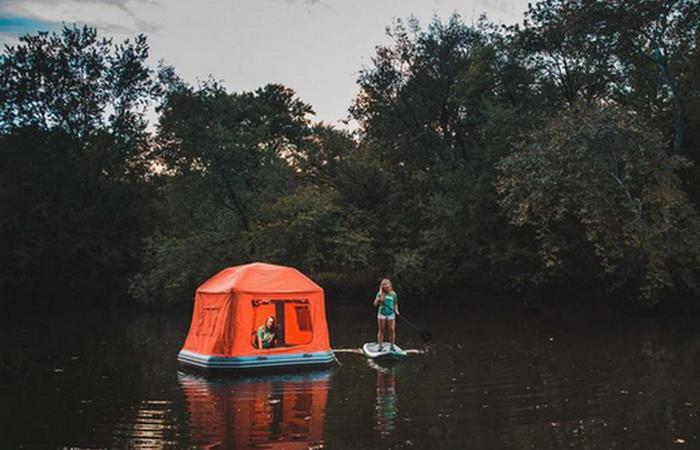 Плавающая палатка «Shoal Tent».