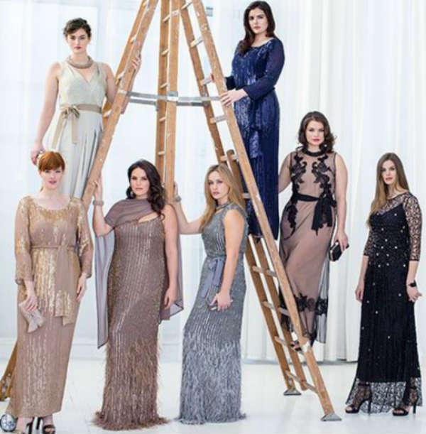 Вечерние платья Marina Rinaldi осень-зима 2014-2015