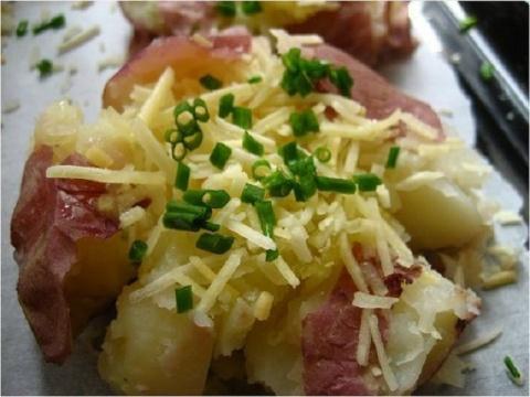 Моя любимая печёная картошка!