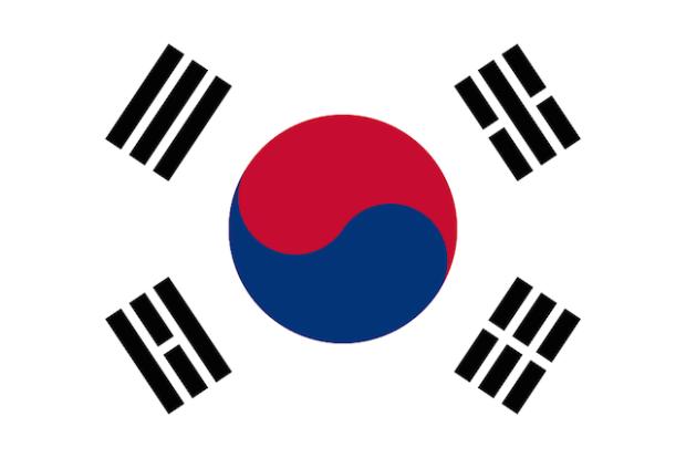 Южнокорейский флаг