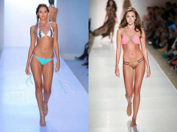 Модные купальники лето 2015: разноплановый верх и низ