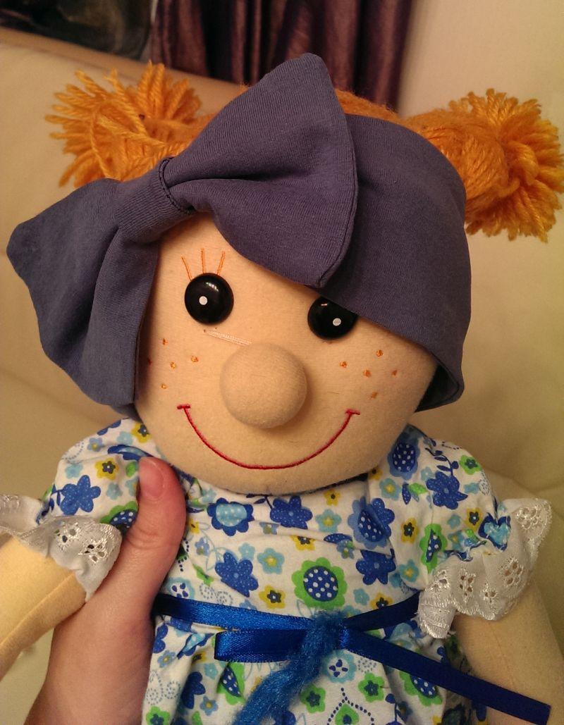 Красивые повязки на голову для новорожденных - Своими руками 7