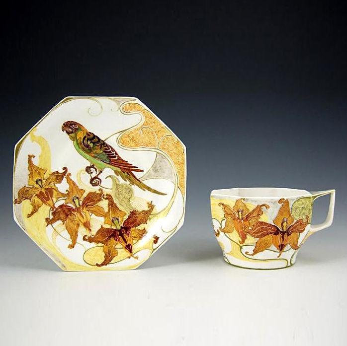 Фарфоровые диковины эпохи Ар Нуво, фото № 13
