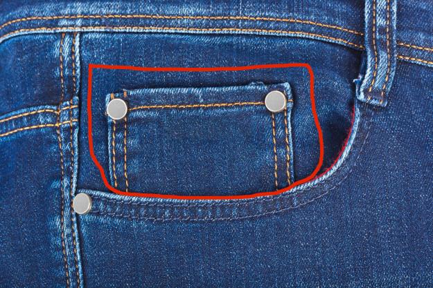 Маленький кармашек на джинсах вещи, смысл, удивительное рядом
