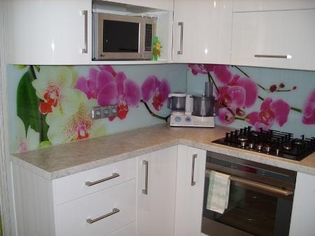 Наша кухня получилась такая, как я и мечтала
