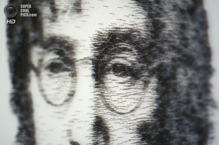 Портреты из гвоздей