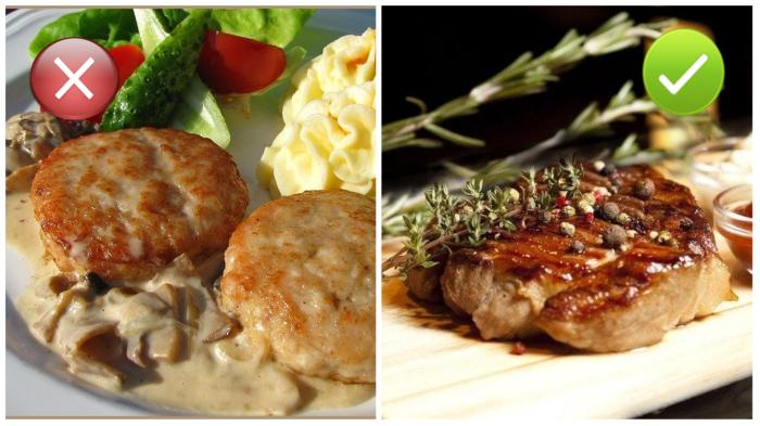 Побалуйте себя тем мясом, которое очень редко (или никогда) бывает дома, например, телятиной.