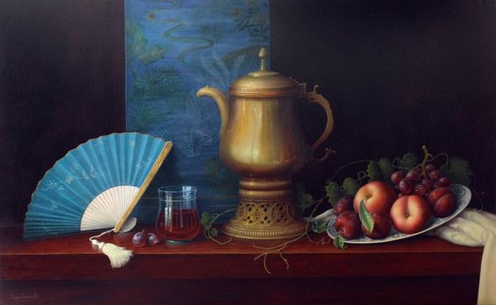 Obi Silk, Fan & Tea Kettle (700x431, 52Kb)