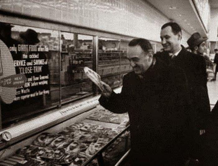 продукты, колбаса, СССР