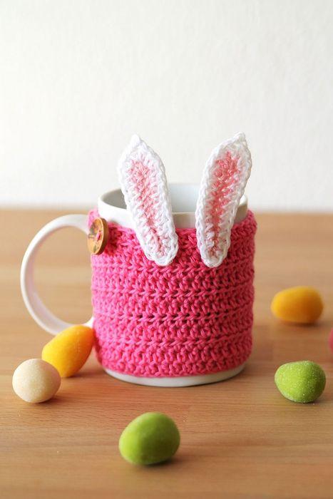 Чехол для чашки в виде зайца